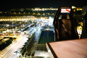 Vue de Dinner in the Sky Monaco par Dining Event @ Jerome Bryon